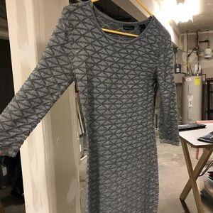 Moda International silver sparkly bodycon dress
